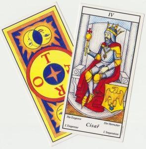 tarot Císař