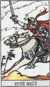 Váhy - rytíř mečů